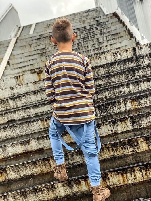 Pants SUSPENDERS BLUE